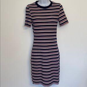 H&M Divided Rib knit stretch bodycon T-shirt dress